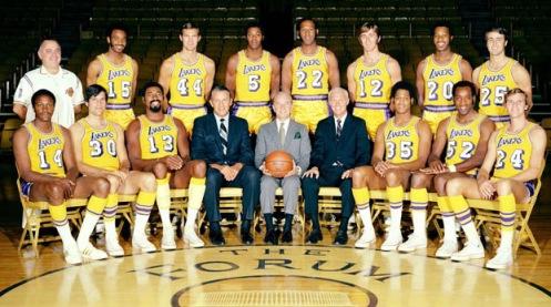 Los Angeles Lakers, temporada 1971-72.