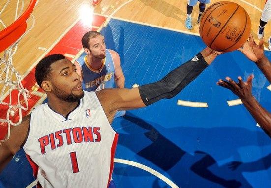 """Andre Drummond: el jugador número """"uno romano"""" de los Pistons."""