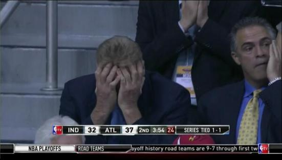 Larry Bird no quiere ver a sus Pacers