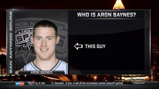 ¿Cuánto hacía que no pensabas en Aron Baynes?