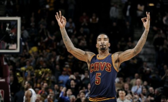 Cuando JR Smith se calienta, se pone incandescente