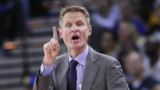 Una defensa dominante, un ataque salvaje, un estilo atractivo. Great job, Steve Kerr.